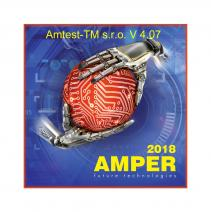 Invitation to the exhibition AMPER 2018